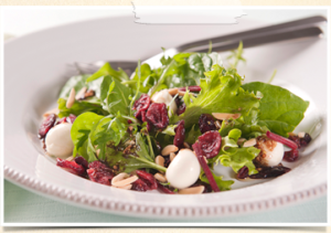 Cranberry-Almond-Salad