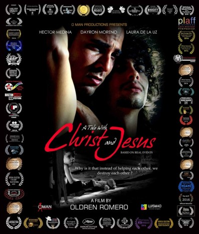 Christ and Jesus Poster